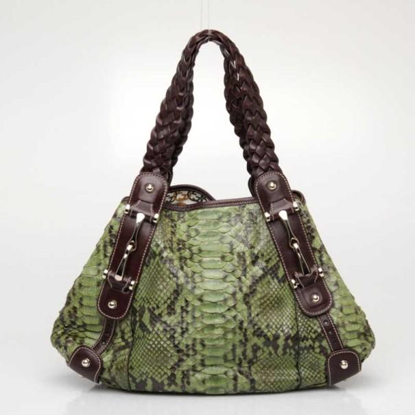 bf56f20edd84 Gucci Python Handbag - Image Of Handbags Imageorp.co