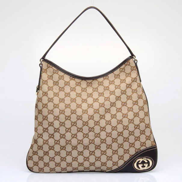 bd6939e02 Buy Gucci New Britt Medium Hobo 38046 at best price | TLC