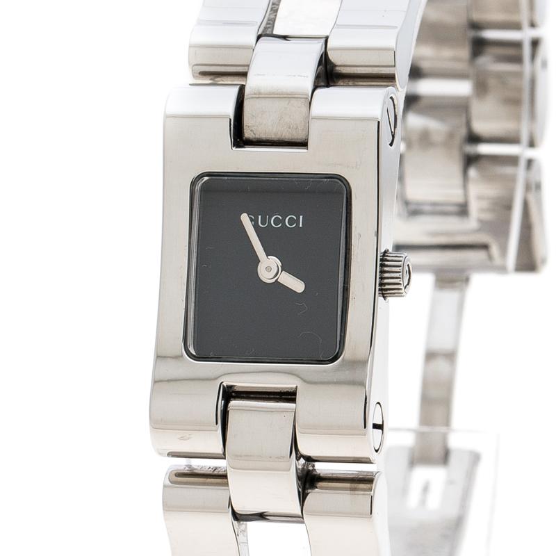 9e886404856 ... Gucci Black Stainless Steel 6305L Women s Wristwatch 17 mm. nextprev.  prevnext