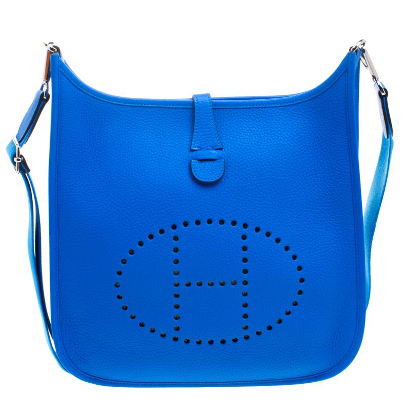hermes evelyne blue hydra