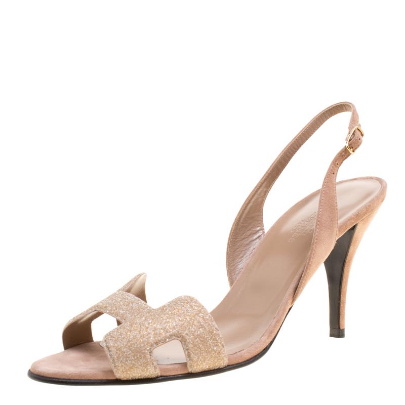 b31c7c698b ... Suede Night Crystal Powder Slingback Sandals Size 40.5. nextprev.  prevnext