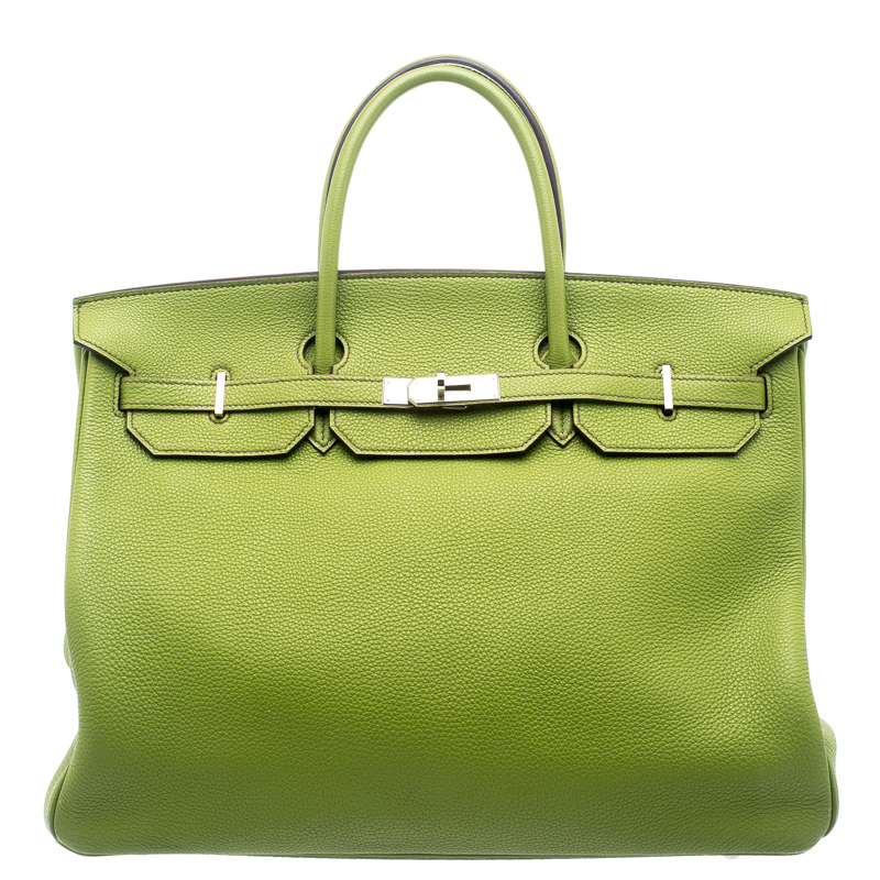 a99d01908e89 Buy Hermes Pistacio Green Togo Leather Palladium Hardware Birkin 40 ...
