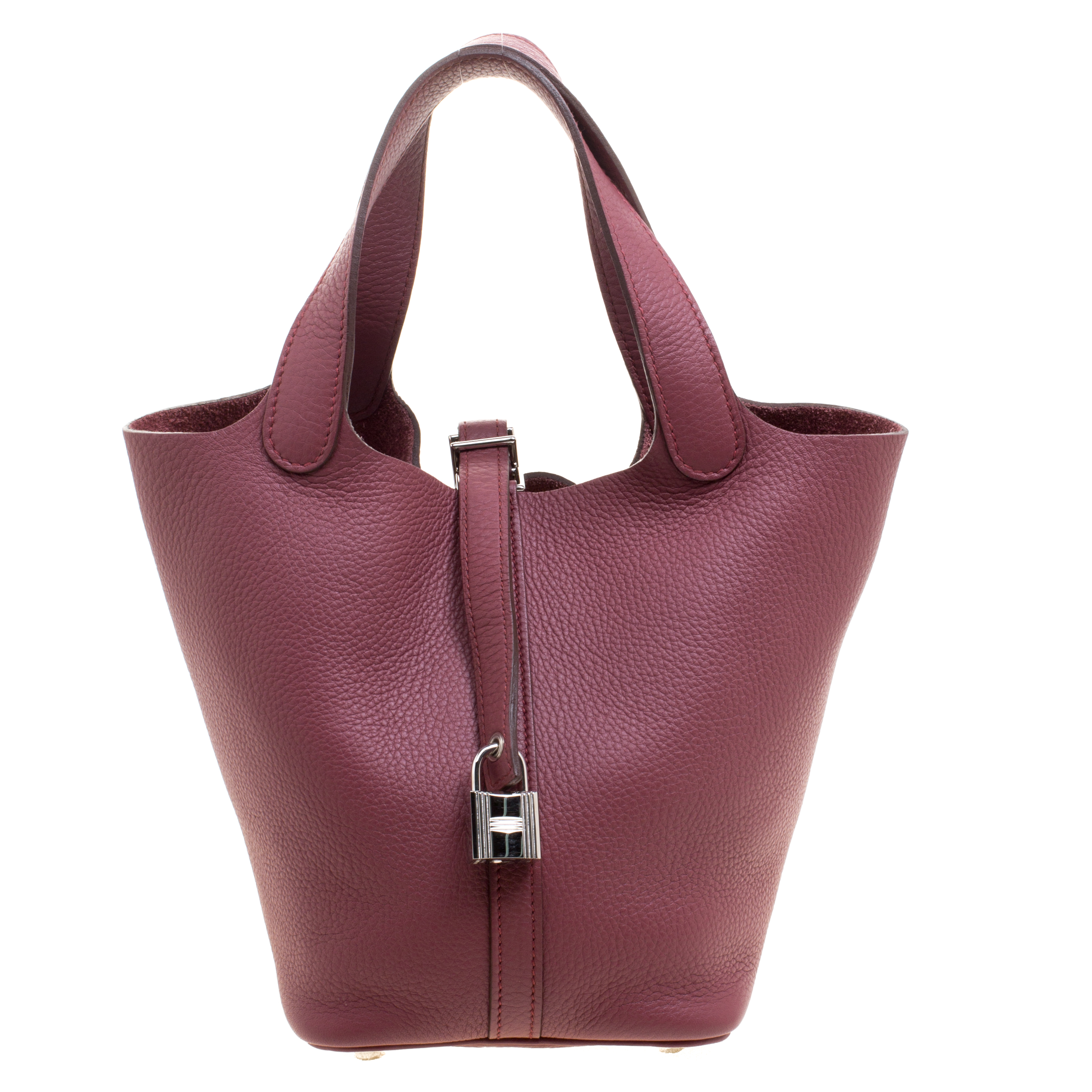 f6a9209d8 إشتري حقيبة هيرمس بيكوتين جلد كليمينس بوا دو روز PM 117963 بأفضل ...