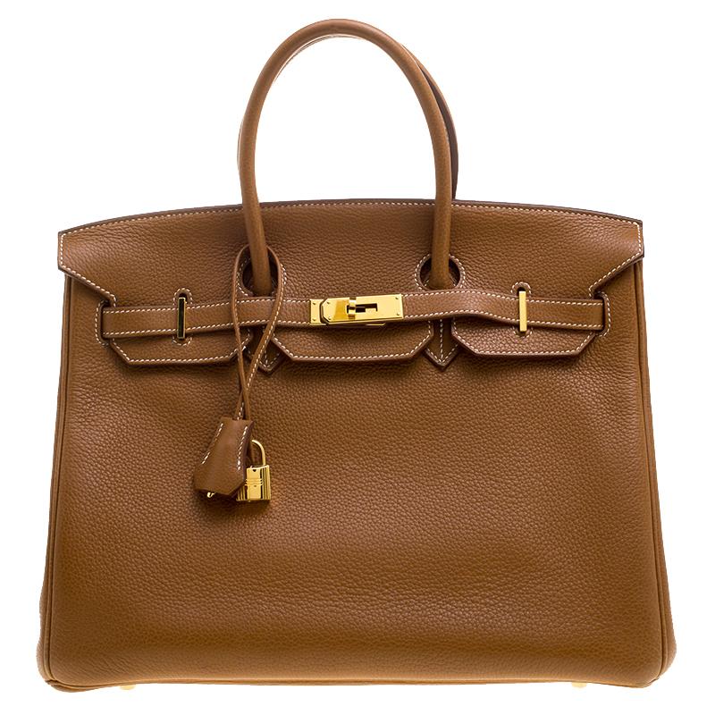 8c10a50b0a ... Hermes Gold Togo Leather Gold Hardware Birkin 35 Bag. nextprev. prevnext