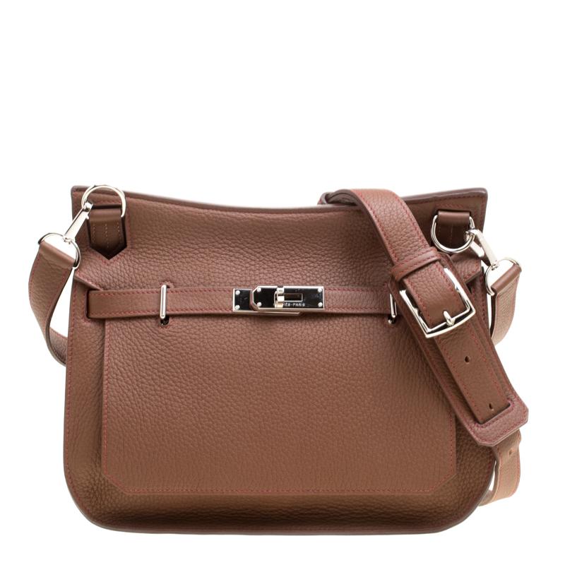 3763f69e08d5 ... Hermes Gold Bordeaux Clemence Leather Jypsiere 28 Bag. nextprev.  prevnext