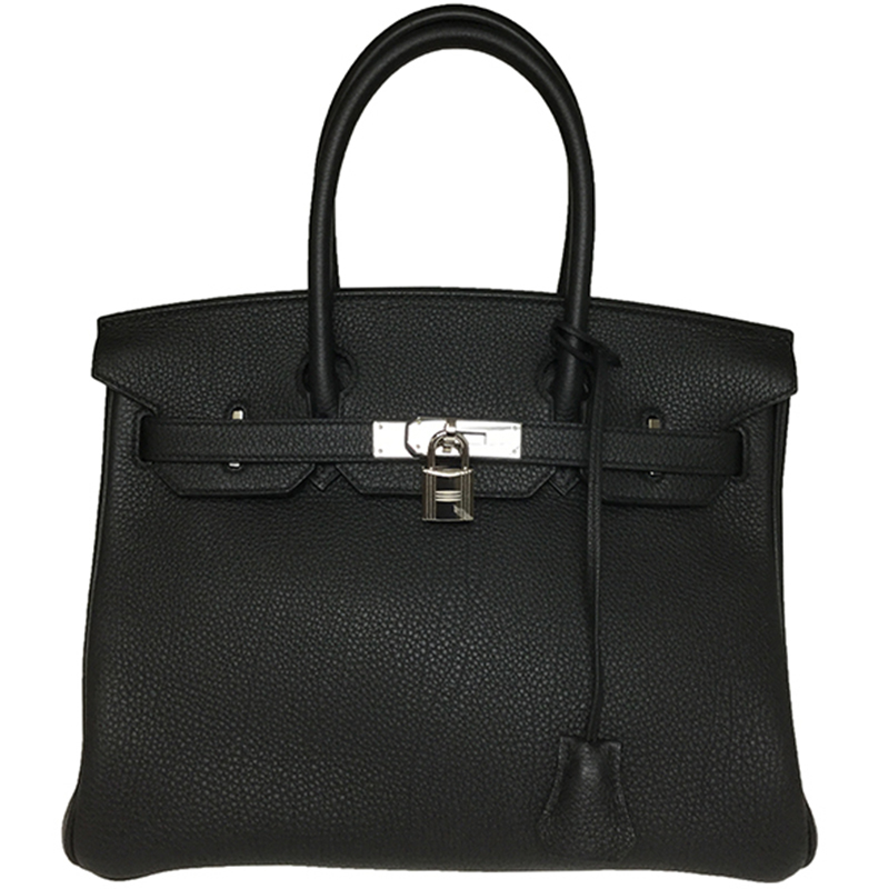 4aaa07cde0 ... Hermes Noir Togo Leather Palladium Hardware Birkin 30 Bag. nextprev.  prevnext