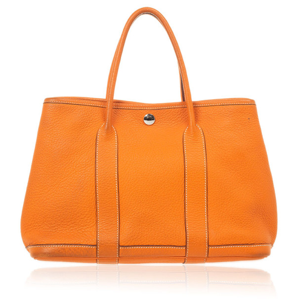 ... Hermes Canvas Leather Garden Party TPM Tote Bag. nextprev. prevnext 12585309add41