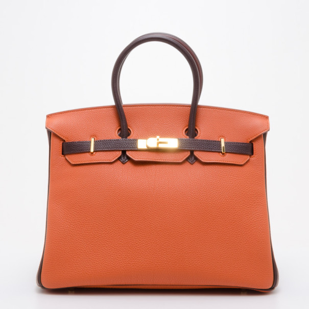 cc6d1302d43c ... Hermes Birkin 35 Togo Limited Edition Orange Brown. nextprev. prevnext