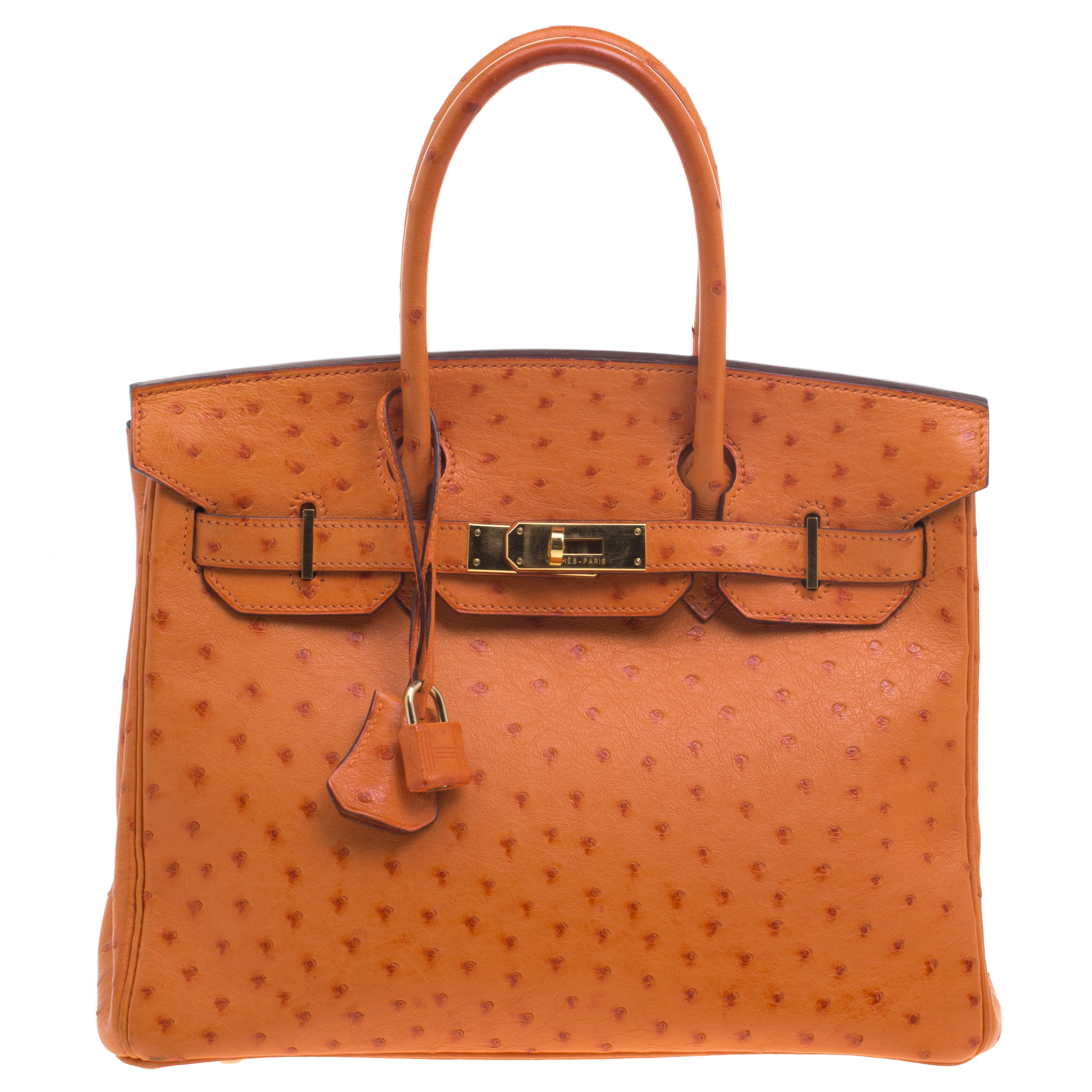 4f4d6bc225d9 ... Hermes Tangerine Ostrich Leather Gold Hardware Birkin 30 Bag. nextprev.  prevnext