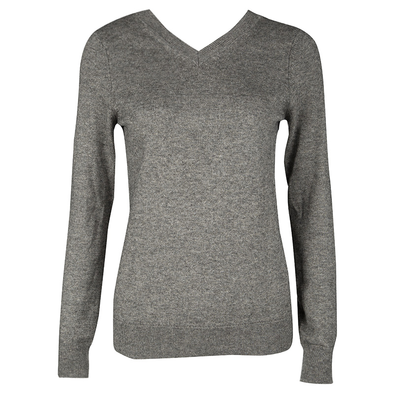 205fd7fb61 ... Isabel Marant Etoile Grey Melange Knit V Neck Sweater M. nextprev.  prevnext