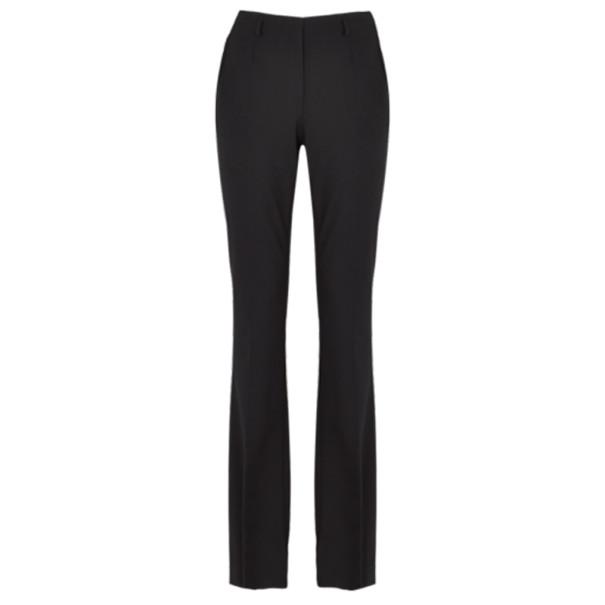 Jason Wu Black Wool Boot-Leg Trousers M