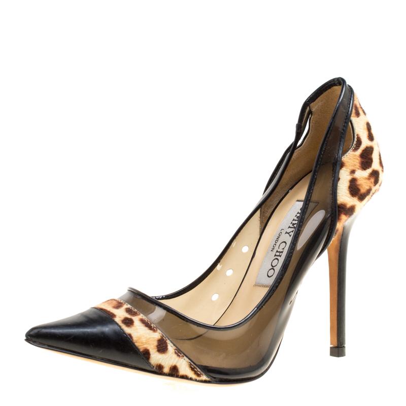 jimmy choo leopard pumps
