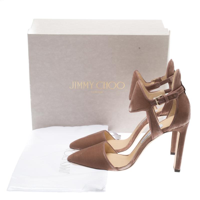 Online Bestellung Jimmy Choo Moon 100 Leather Pump Frauen