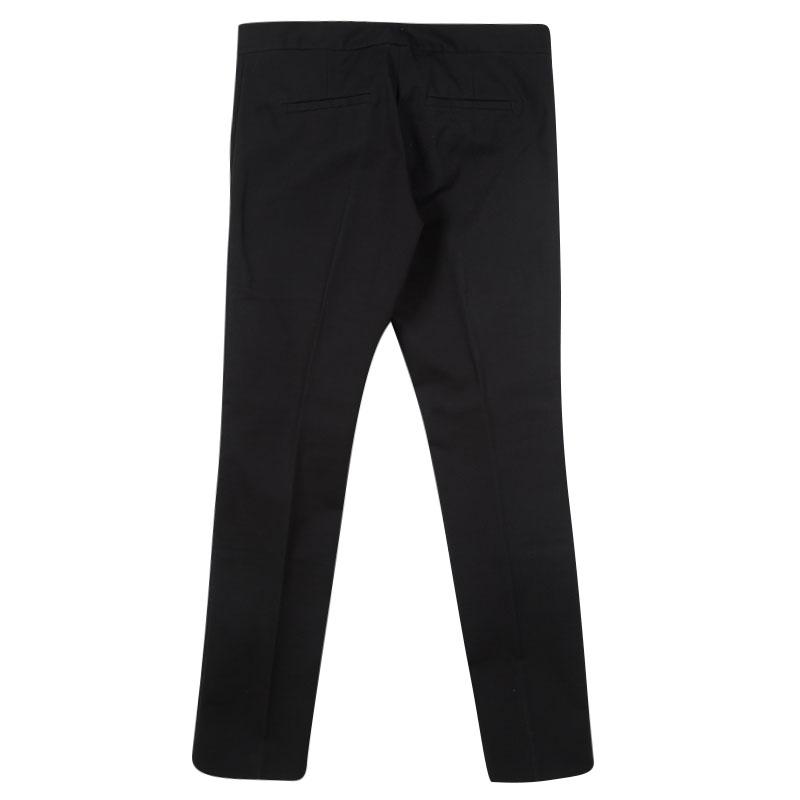 great deals 2017 limited style popular design Joseph Black Stretch Gabardine Finley Regular Fit Trousers M
