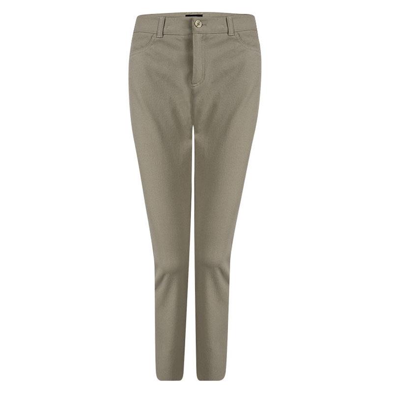 Купить со скидкой Joseph Beige Stretch Denim Boot Cut Pants L