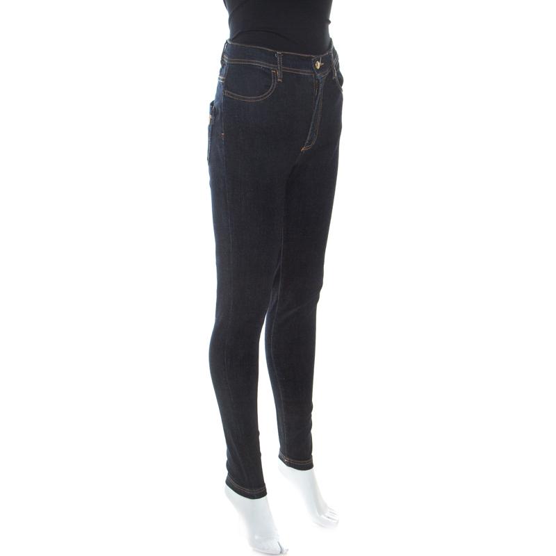 Just Cavalli Blue Dark Wash Denim Slim Fit jeans de M