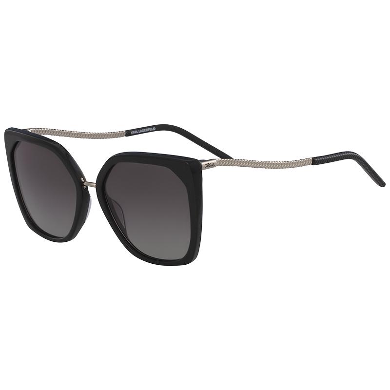 Karl Lagerfeld Black Glitter KL950S Square Sunglasses