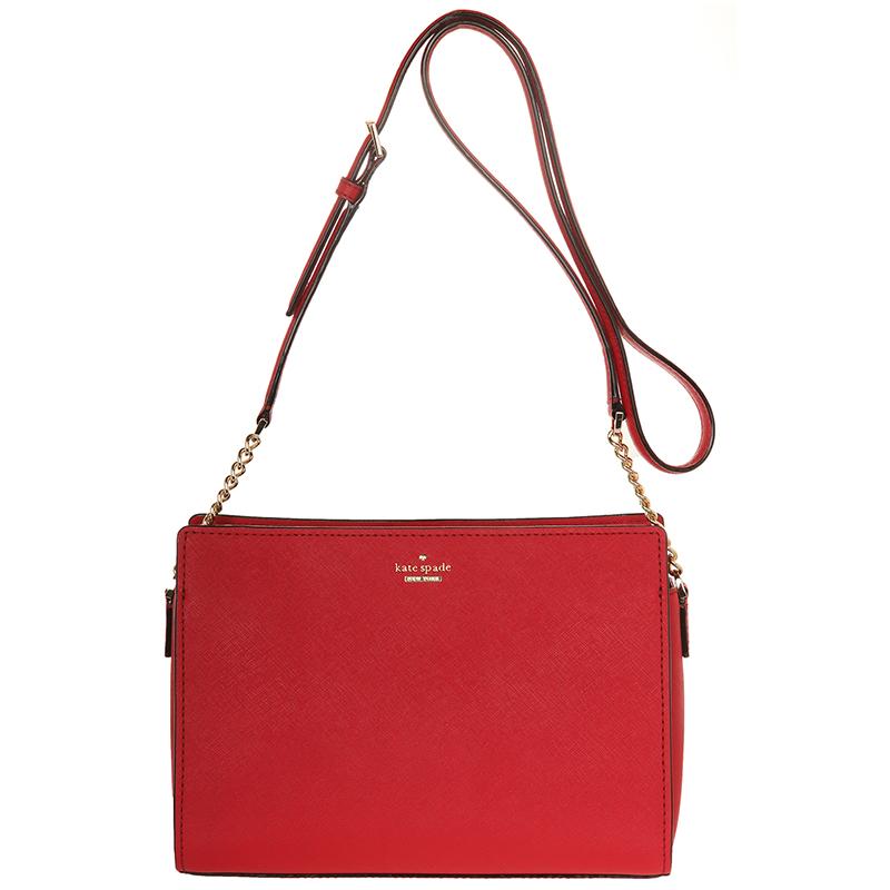 Buy Kate Spade Red Leather Cameron Street Danna Crossbody Bag 134794