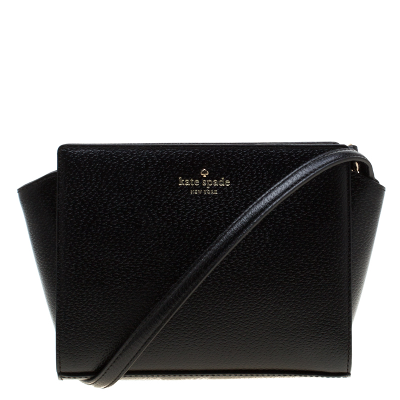 c6b3bbaf3 ... Kate Spade Black Leather Grand Street Hayden Crossbody Bag. nextprev.  prevnext