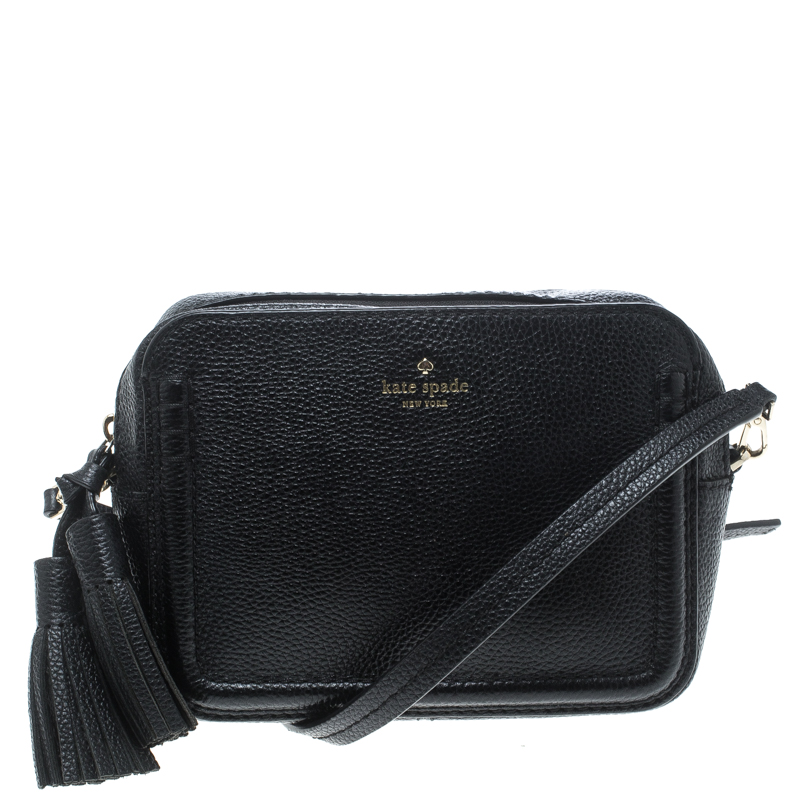 ... Kate Spade Black Leather Kingston Drive Arla Crossbody Bag. nextprev.  prevnext e45a444e3e