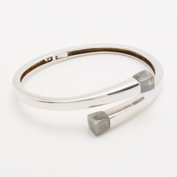 Kenzo Large Kyoto Silver Contrarie Bracelet fIb76yYgv