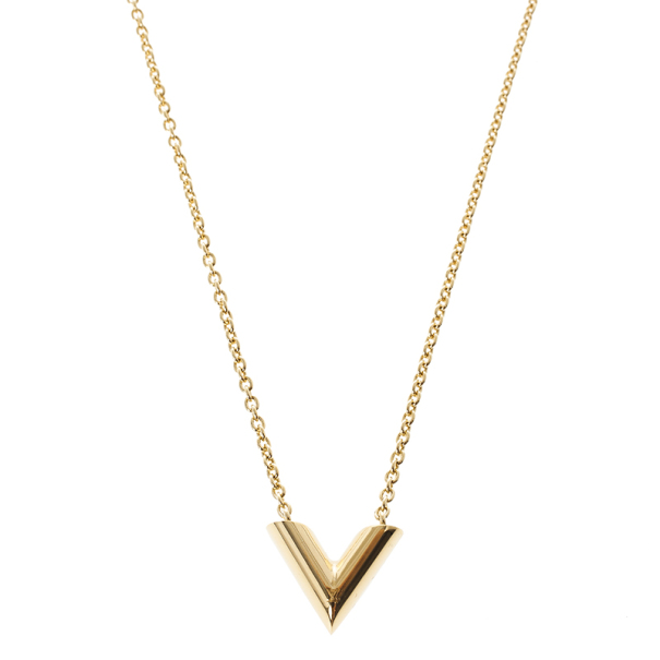e9a04251e6a Louis Vuitton Essential V Necklace