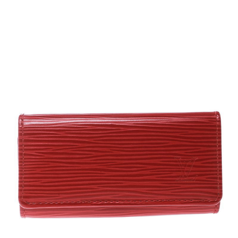 a589cea2473 Louis Vuitton Red Epi Leather 4 Keys Holder 171448 At Best. Louis Vuitton  Key Holder Monogram Mens T5031 Reebonz