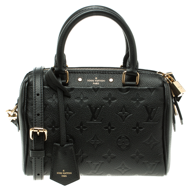 e4b9cc6a6a84 ... Louis Vuitton Black Monogram Empreinte Leather Speedy Bandouliere 20.  nextprev. prevnext
