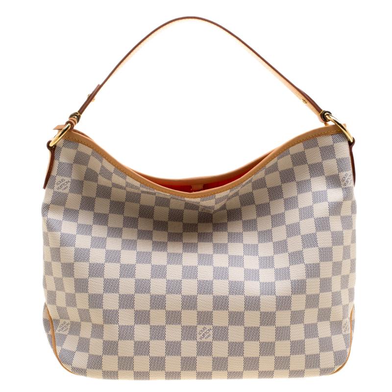 a36609f886ae ... Louis Vuitton Damier Azur Canvas Delightful PM Bag. nextprev. prevnext