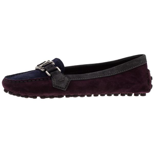 Louis Vuitton Tricolor Oxford Loafers Size 37