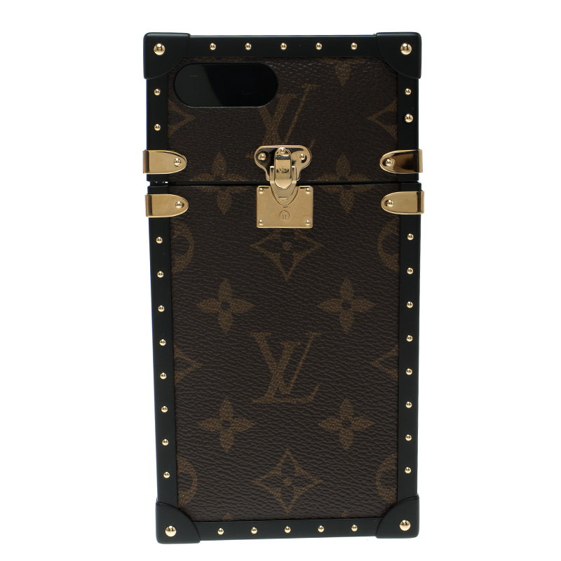 uk availability 913df de158 Louis Vuitton Monogram Canvas Eye Trunk Iphone 7+ Case