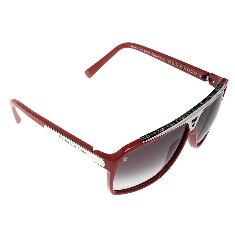 f5e24db82 ... Louis Vuitton Red/Black Gradient Z0286W Evidence Sunglasses. nextprev.  prevnext