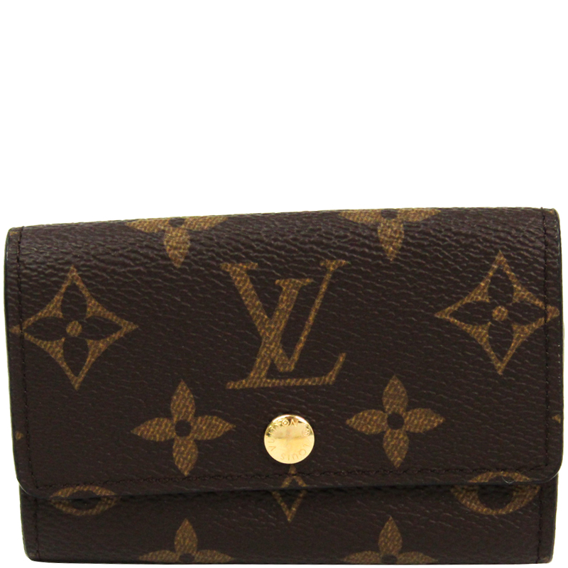 9a1ccce8f3a6 Buy Louis Vuitton Monogram Canvas 6 Key Holder 175991 at best price ...