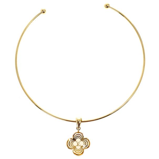 ffea43f9e6e2b Louis Vuitton A La Folie Choker Necklace