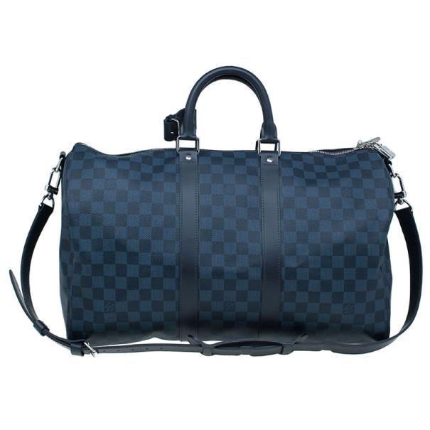 85e68cfb02ae ... Louis Vuitton Damier Cobalt Canvas Keepall Bandouliere 55. nextprev.  prevnext