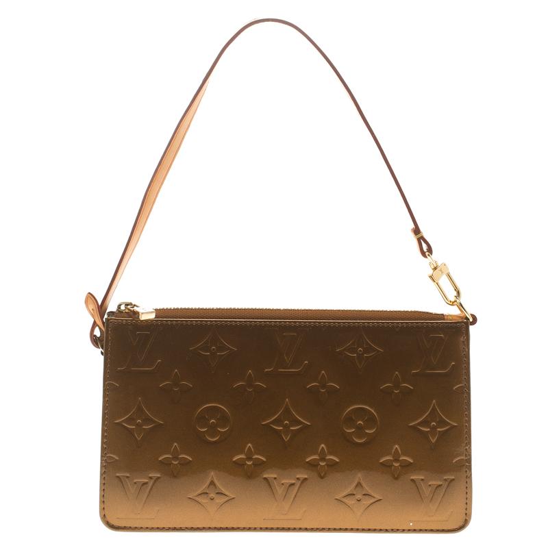 b1595a406246 ... Louis Vuitton Bronze Monogram Vernis Lexington Pochette Bag. nextprev.  prevnext