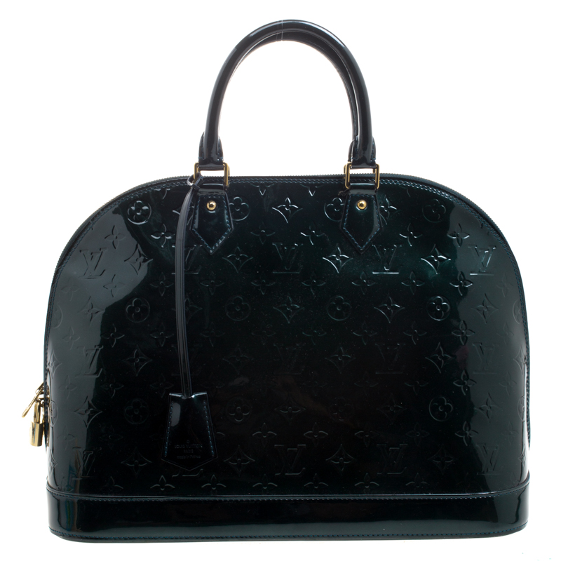 cd70595dc5de ... Louis Vuitton Green Monogram Vernis Alma GM Bag. nextprev. prevnext