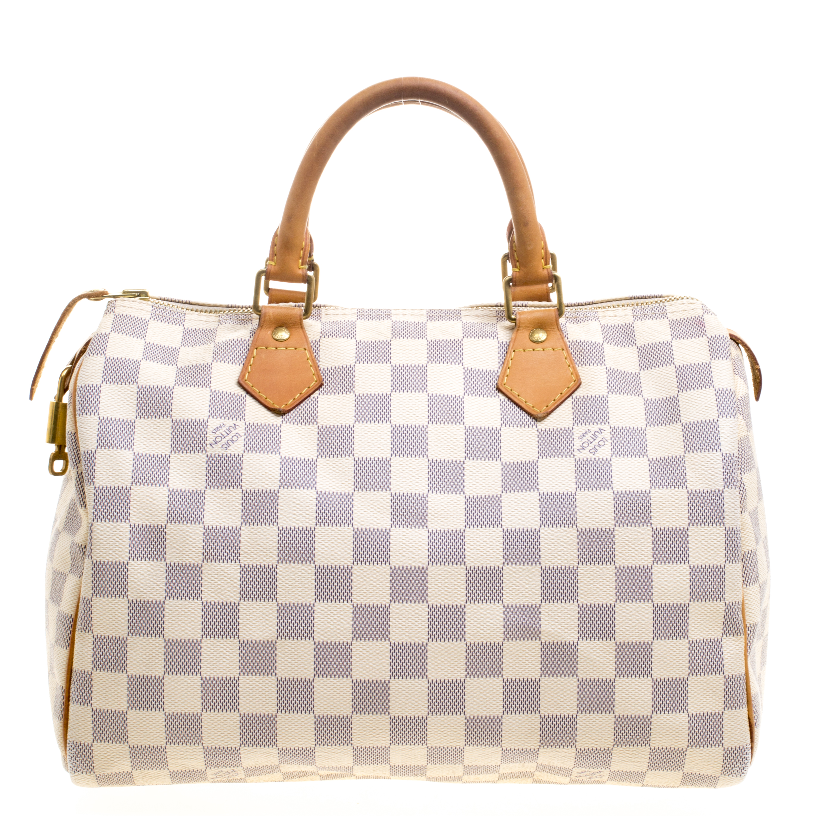 better price for pretty and colorful buy real Louis Vuitton Damier Azur Canvas Speedy 30