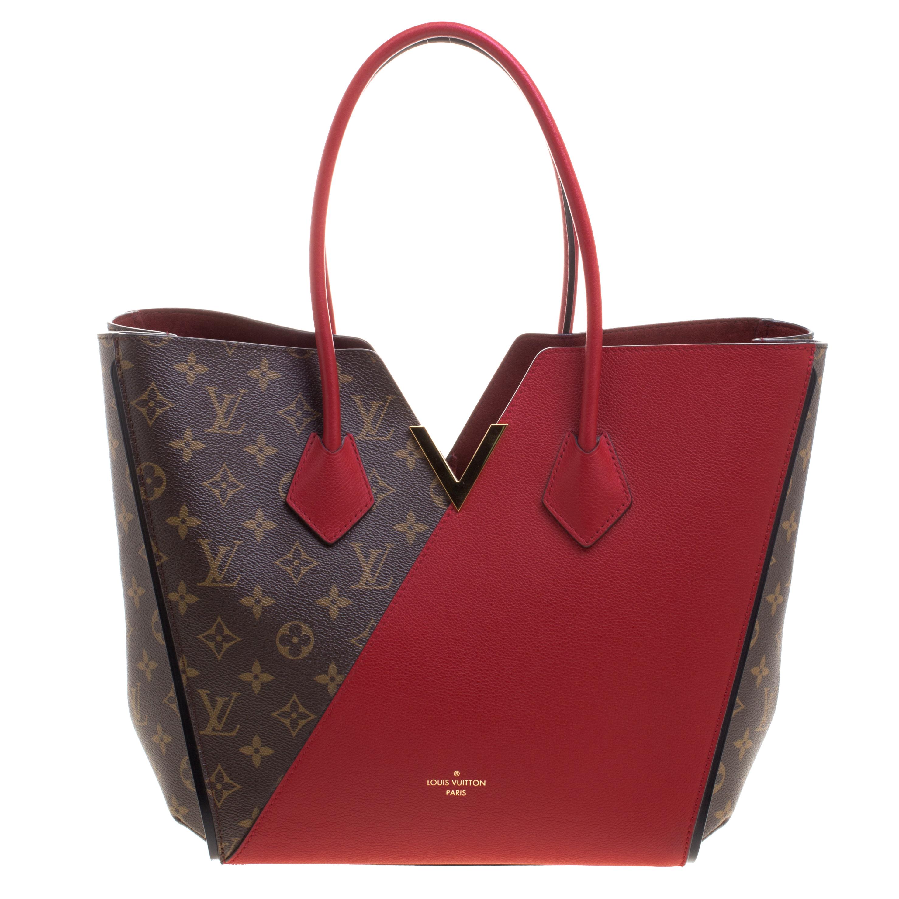 bbb8102a046a ... Louis Vuitton Red Monogram Canvas and Leather Kimono Bag. nextprev.  prevnext