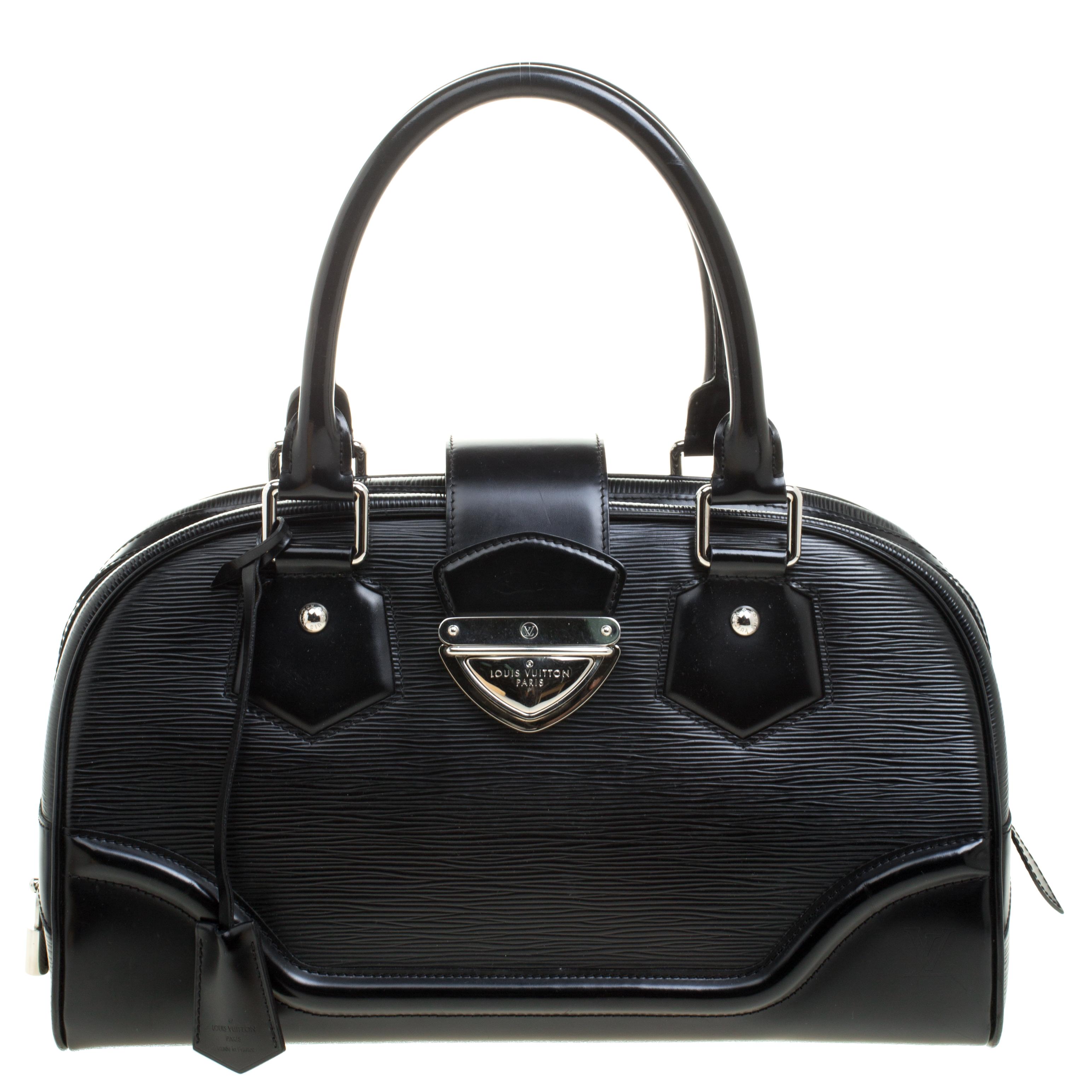 ... Louis Vuitton Black Epi Leather Bowling Montaigne GM Bag. nextprev.  prevnext c38166feaa747