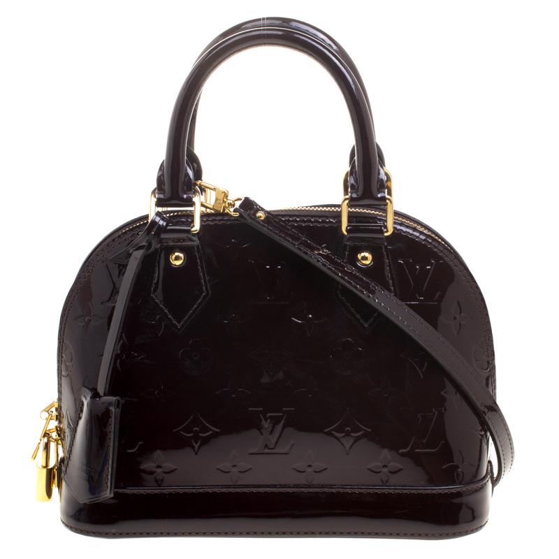 f9566b9681c7 ... Louis Vuitton Amarante Monogram Vernis Alma BB Bag. nextprev. prevnext