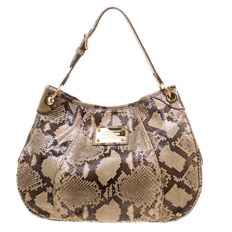 310839ba6cf5 ... Louis Vuitton Beige Python Limited Edition Galliera Smeralda PM Bag.  nextprev. prevnext