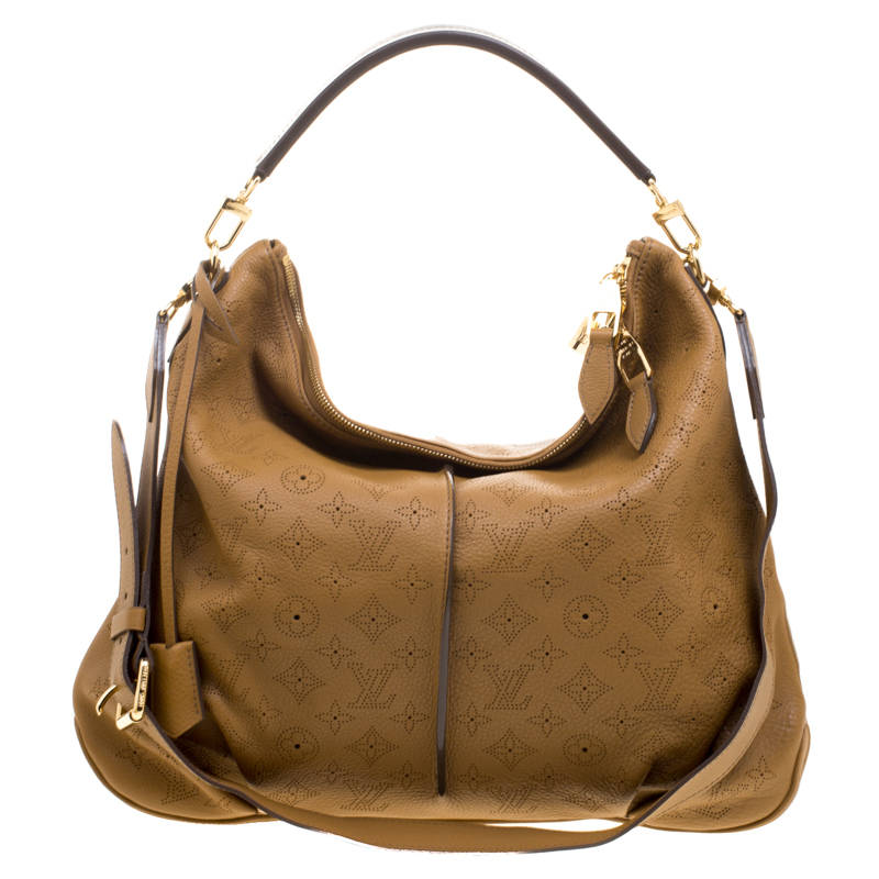 ea2caeeb8fc6 ... Louis Vuitton Brown Monogram Mahina Leather Selene MM Bag. nextprev.  prevnext
