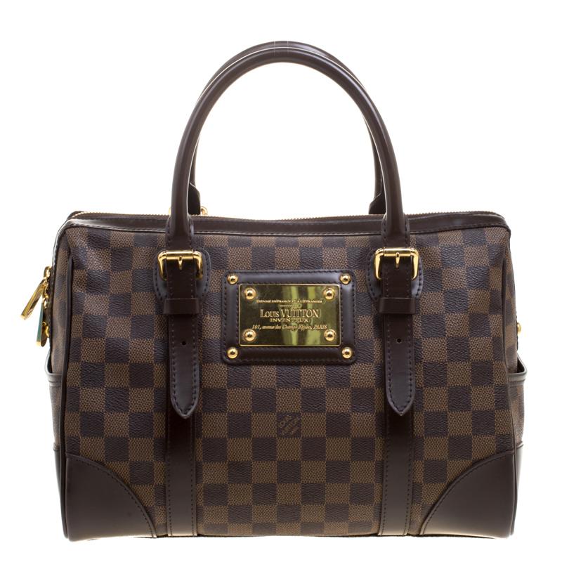... Louis Vuitton Damier Ebene Canvas Berkeley Bag. nextprev. prevnext 195ccb8a6bb6d