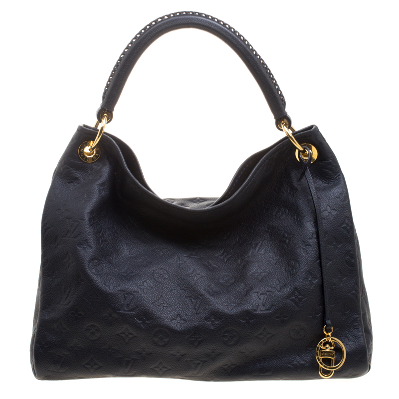 1326d1866e736 ... Louis Vuitton Bleu Infini Monogram Empreinte Leather Artsy MM Bag.  nextprev. prevnext