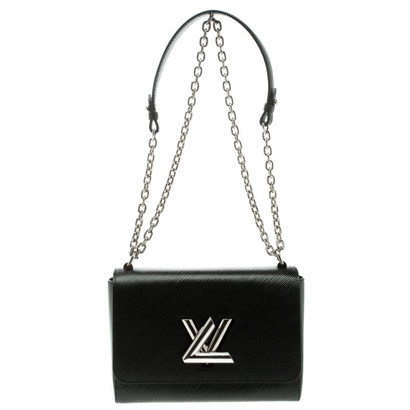 4543cdc1bff3 ... Louis Vuitton Black Epi Leather Twist MM Bag. nextprev. prevnext