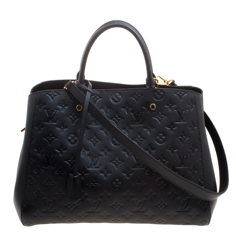 2e93209a0ab2 ... Louis Vuitton Black Monogram Empreinte Montaigne GM Bag. nextprev.  prevnext