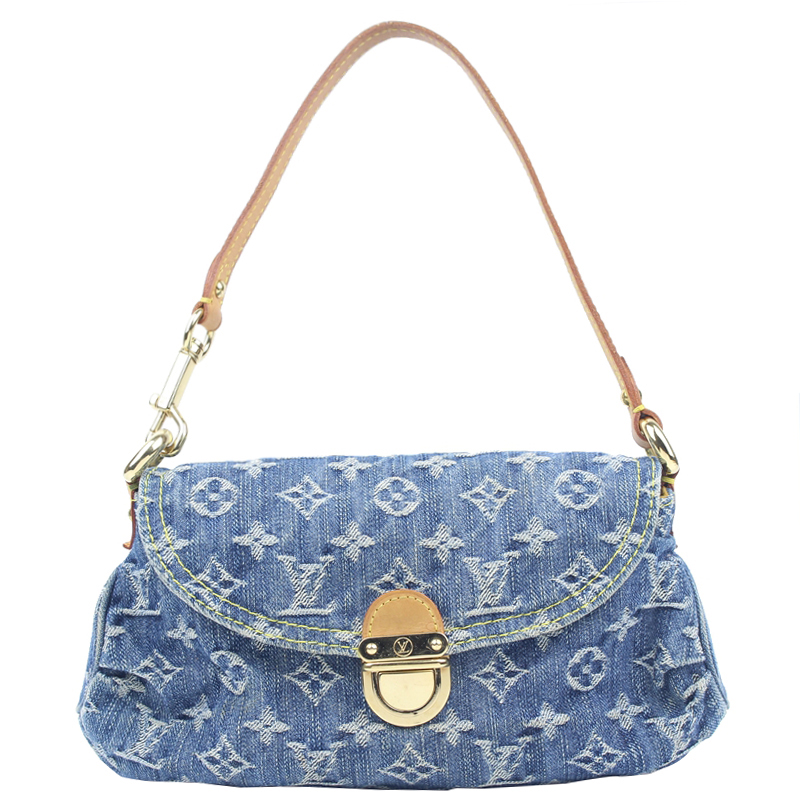 fbe9440b216 ... Louis Vuitton Blue Monogram Denim Mini Pleaty Bag. nextprev. prevnext