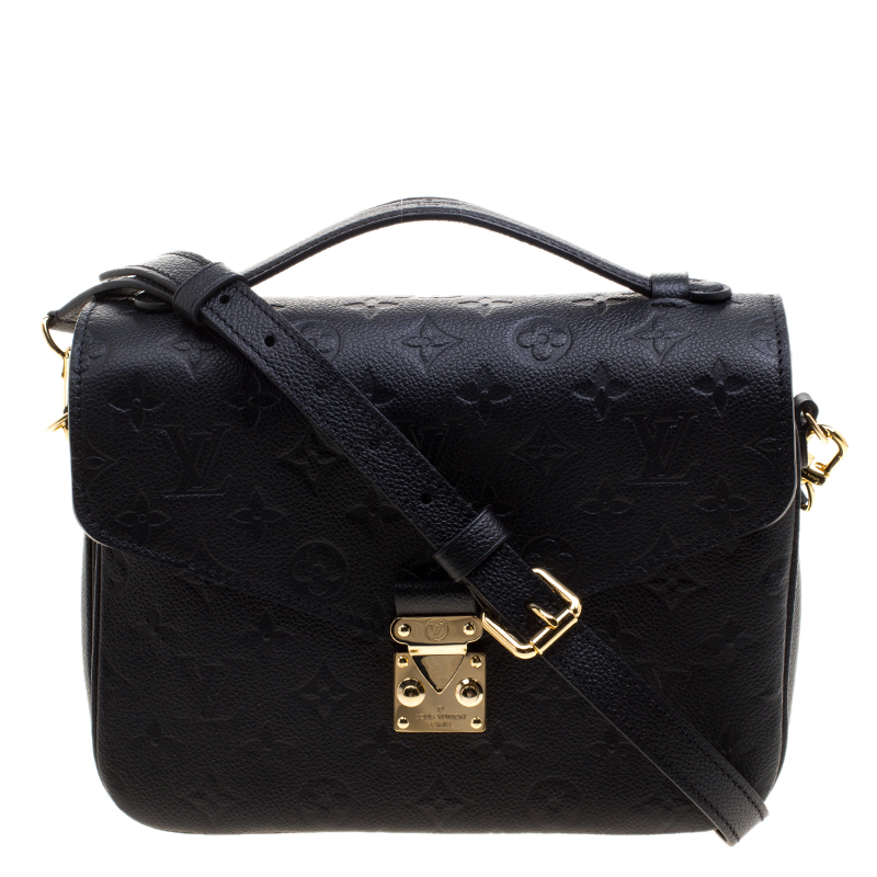 079e22b793de ... Louis Vuitton Black Monogram Empriente Leather Pochette Metis Bag.  nextprev. prevnext