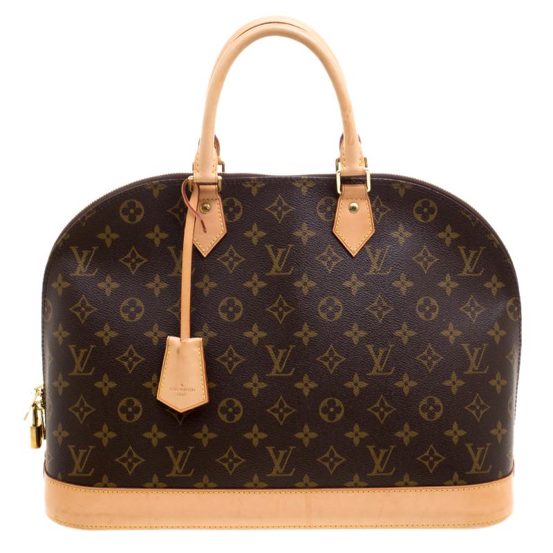 ef14c865da0f Buy Louis Vuitton Monogram Canvas Alma GM Bag 120932 at best price